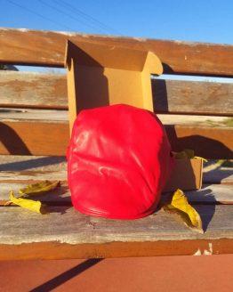 Boina roja de polipiel Hatink