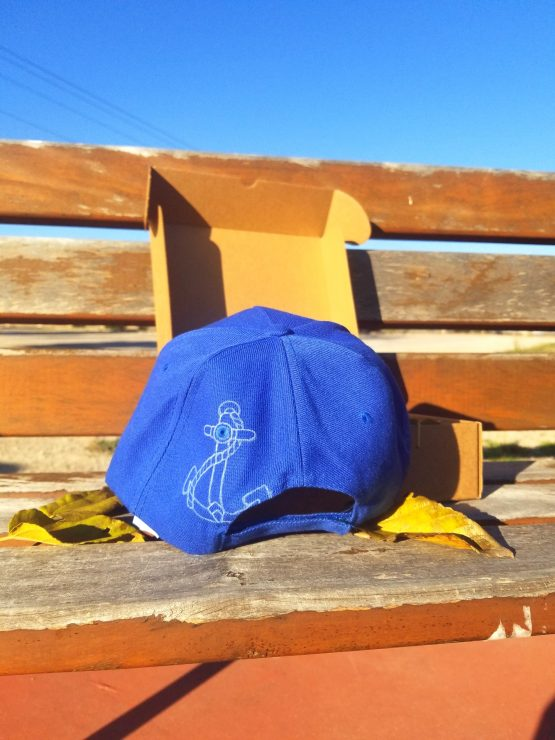 Gorra Snapback azul old school