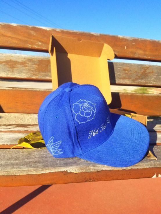Gorra Snapback azul old school Hatink