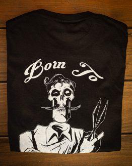 Camiseta Skull Barber Tattoo