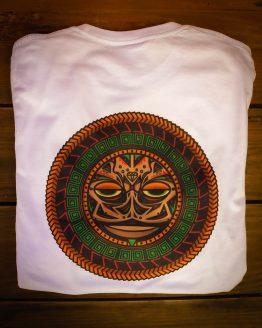 Camiseta estilo Tattoo maorí